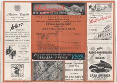 Toscanini, Arturo - Farewell Concert to NBC Orchestra Tour 1940 - Teatro Colon, Argentina