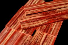 26db315f8960111e2b020c22c1b662b8.jpg (1152×762) tri color marbled african padauk looks just like bacon