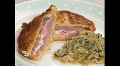 Ham and Cheese Veal Schnitzel