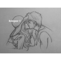 Drawing people couples beautiful new Ideas Cute Couple Drawings, Love Drawings, Beautiful Drawings, Girl Drawing Sketches, Pencil Art Drawings, Character Design Cartoon, Character Drawing, Itslopez, Couple Art