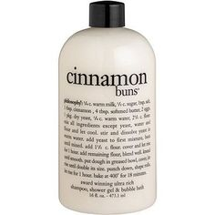 Discover Cinnamon Buns Shower Gel by Philosophy at MECCA. Evoke notions of baking delicious cinnamon buns every time you use this multi-tasking shower gel and shampoo. Makeup Tricks, Makeup Ideas, Diy Makeup Kit Gift, Beauty Blender, Beauty Essentials, Beauty Products Gifts, Makeup Products, Beauty Hacks For Teens, Tips And Tricks