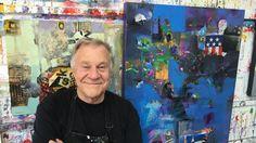 "BobBlast 104 ""Collage & Painting Demonstration."""