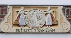 Gevelstenen in Edam en Volendam | Berthi's Weblog
