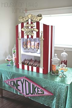 Harry Potter Party A Very Harry Birthday Part 5: Honeydukes
