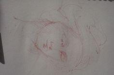 škica, štúdia podľa Leonarda