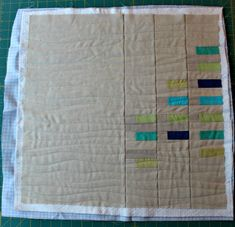 A Quilter's Table: 2016 Finish-A-Long Tutorial :: Organic Straight-Line Quilting