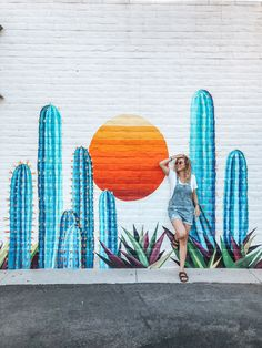 Pinterest⇝≫skylarmckellar❁ Insta⇝≫sky.mckellar❁ I always follow back Mural Wall Art, Graffiti Wall, Murals Street Art, Street Art Graffiti, Garden Mural, Garden Art, Surface Art, School Murals, Art Painting Gallery