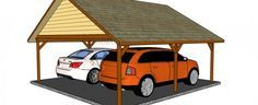 How to build a double carport