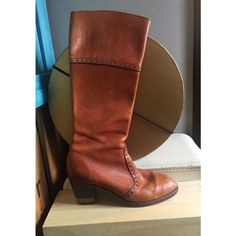 Selling this Beautiful Vintage Leather Detailed boots in my Poshmark closet! My username is: kali_perry. #shopmycloset #poshmark #fashion #shopping #style #forsale #Shoes