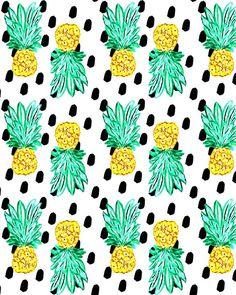Pineapple and Dots | BOUFFANTS & BROKEN HEARTS.