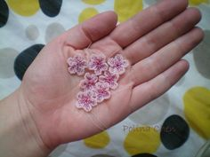 Flower components - detailed tute w/many pictures from Russian site. #Seed #Bead #Tutorials