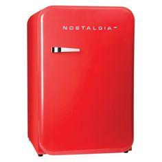 Nostalgia Home RRF38SD Retro Series 3.8 cu.ft. Refrigerator with Freezer - 082677623218