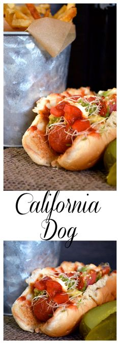 California Alfalfa and Sriracha Topped Dog