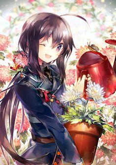 Kawaii ^~^Blumen Mädchen