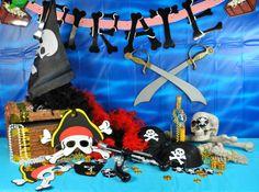 один постер на пиратскую вечеринку цветотип простой