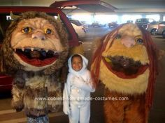 Homemade Where the Wild Things are Costumes... This website is the Pinterest of costumes