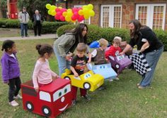 Life with the Depews: Ryan & Connor's 4th Birthday Party: Lightning McQueen in Radiator Springs