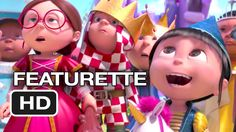 Despicable Me 2 Featurette - Gru's Daughters (2013) - Steve Carell Movie HD