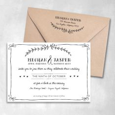 Eternal Wedding Invitations