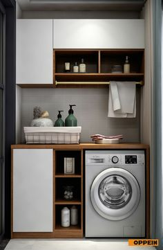 Bathroom Cabinets, Kitchen Cabinets, Home Furniture, Furniture Design, Laundry Design, Laundry Room, Bathrooms, Room Ideas, Home Appliances