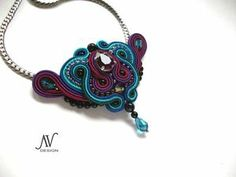 Leila necklace by Anneta Valious