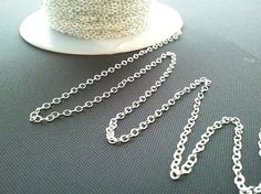 Sterling Silver Chain Upgrade by LaLaCrystal on Etsy, $3.50