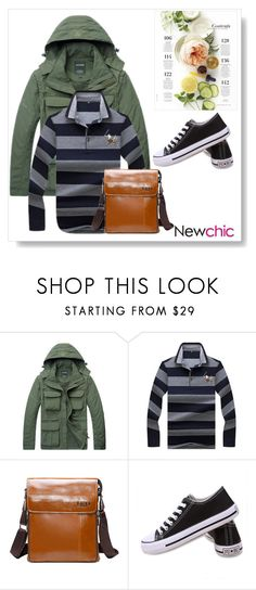 """""""Newchic"""" by kristina779 ❤ liked on Polyvore featuring AFS JEEP, Martha Stewart, men's fashion and menswear"""