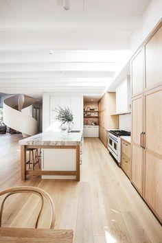Interior Modern, Interior Desing, Kitchen Interior, Küchen Design, House Design, Garden Design, Kyal And Kara, Large Open Plan Kitchens, Australian Homes