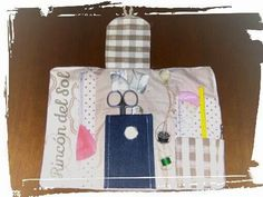 Rincòn del Sol - TGC: Mini costurero de bolsillo/ mini borsetta cucito t...