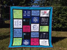 Custom T-Shirt Quilts Made From YOUR T-Shirts-Deposit ONLY on Etsy, $75.00  www.prairiegirlquilts.com