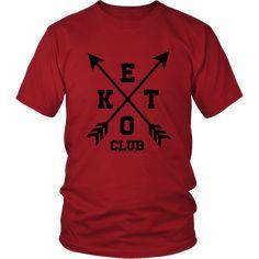 Keto Club X (Homme) Club, Dimensions, Keto, Mens Tops, T Shirt, Fashion, God Is Good, Welcome, Life