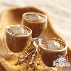 Mocha Cinnamon Custard from Folgers®