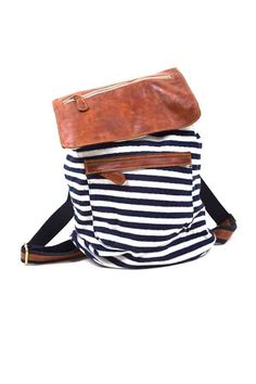 leather and nautical stripes, what else is there?