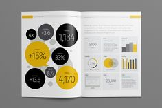 Buy Annual Report Template by Temp-ly on GraphicRiver. An annual report is a comprehensive report on a company's activities throughout the preceding year. Annual Report Layout, Annual Report Covers, Annual Reports, Nonprofit Annual Report, Brochure Cover Design, Magazine Layout Design, Magazine Layouts, Newspaper Design, Newsletter Design