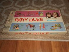 1963 Patty Duke Vintage Board Game Complete Milton Bradley Duke Game, Patty Duke, Vintage Board Games, Milton Bradley, The Originals, Cards, Ebay, Map