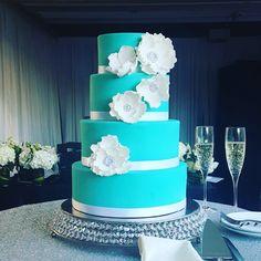 Tiffany Blue Wedding Cake By Truly