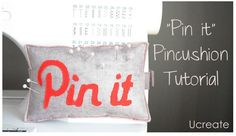 """Pin it"" pincushion tutorial"