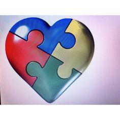 Autisim Heart.