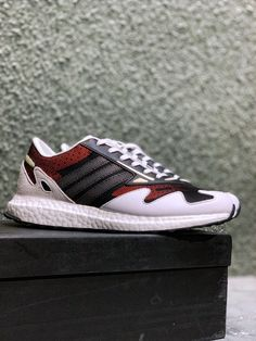 adidas Y-3 Rhisu Runner Boost EF2566 Shoe Brands, Adidas Shoes, Sneakers, Fashion, Tennis, Moda, Adidas Sneakers, Fashion Styles, Sneaker