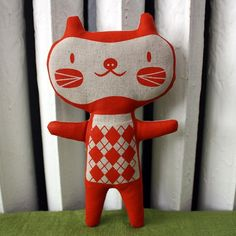 kitty. From Etsy?  [per previous pinner]