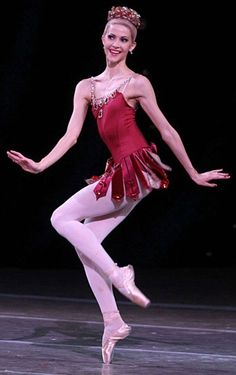 Alina Somova, in Rubies from Balanchine's ballet Jewels.