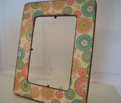 Shabby chic picture frame distressed edges table by FramezCraze