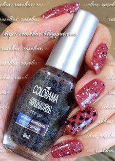 esmalte glitter Colorama pop up