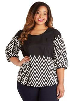 ModCloth Blog Feature Top in Plus Size for $45 / Wantering