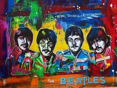 beatles music ilustrated by Walter Vermeulen