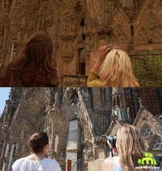Vicky Cristina Barcelona: Sagrada Familia, Barcelona Vicky Cristina Barcelona, Filming Locations, Around The Worlds, Movies, Sagrada Familia, Films, Cinema, Movie, Film