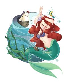 The Little Mermaid by ~Flying4Freedom on deviantART