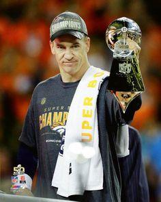 2016 Super Bowl 50 PEYTON MANNING Denver Broncos 8x10 photo poster Picture MVP 2