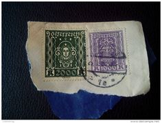 RARE AUSTRIA 2000/1000 KRONEN 1924 BEAUTIFUL RECOMMENDET PAR AVIA LETTRE ON PAPER COVER USED SEAL - 1918-1945 1st Republic