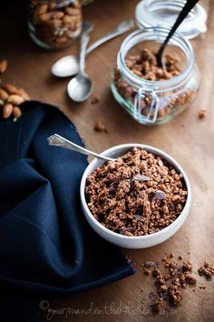 Chocolate Grain Free Granola 5 Gluten Free and Grain Free Chocolate Granola | Chocolate for Breakfast